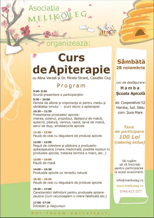 Curs Apiterapie