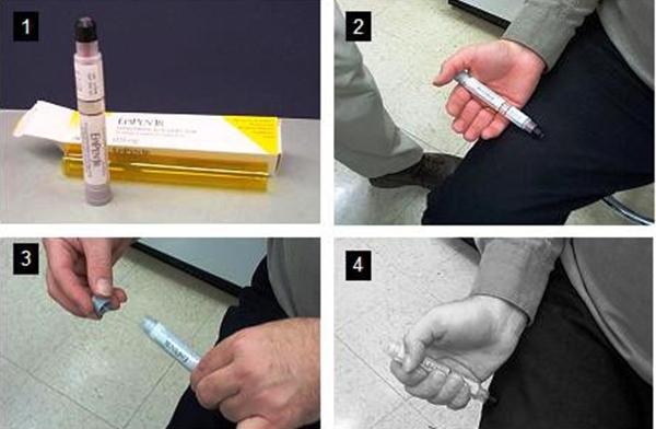 doza de epinefrina